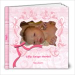 Lilly newborn - 8x8 Photo Book (20 pages)