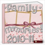 All Year Round FAMILY/LOVE ALBUM - 12x12 Photo Book (40 pages)