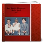 Our Family Cookbook 2010 - 12x12 Photo Book (60 pages)