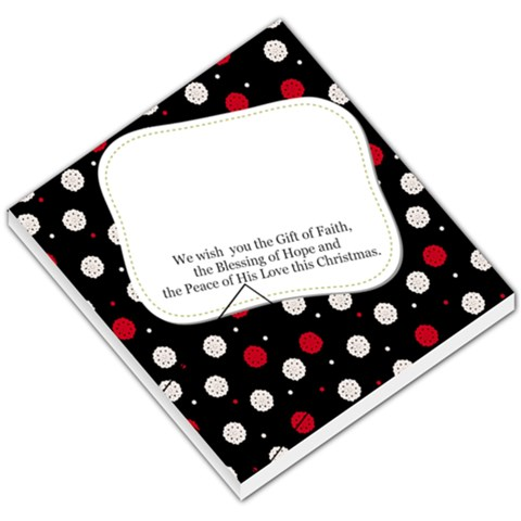 Christmas Memo Pad By Pinkishviolet   Small Memo Pads   Ugmztf0vst3m   Www Artscow Com