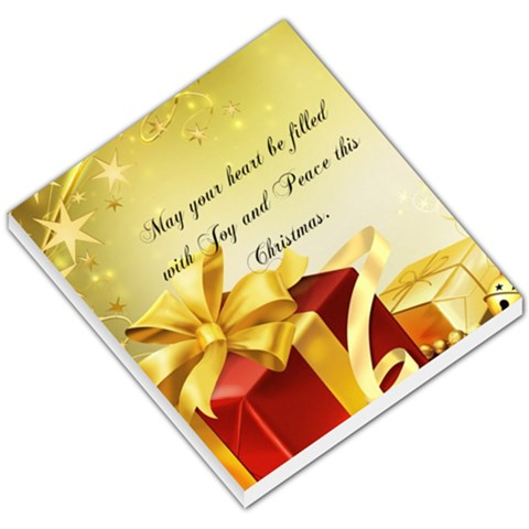 Christmas Gift Tag By Pinkishviolet   Small Memo Pads   S8zya8sgre85   Www Artscow Com
