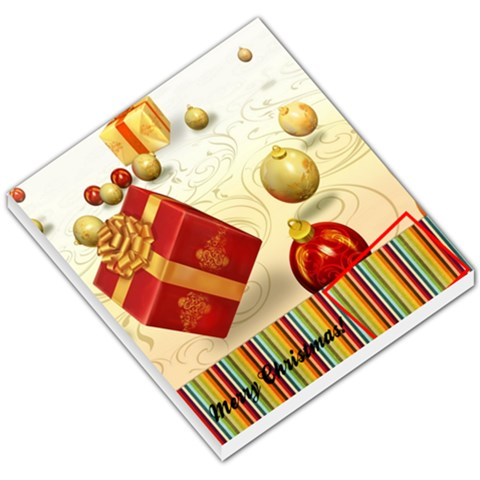 Christmas Memo Pad By Pinkishviolet   Small Memo Pads   Hqnoavht3mhs   Www Artscow Com