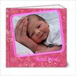 Baby Girl 6x6 Photo Book 20 pages - 6x6 Photo Book (20 pages)