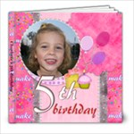 charlotte s 5th birthday - 8x8 Photo Book (20 pages)