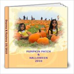 2010 Pumpkin Patch & Halloween - 8x8 Photo Book (20 pages)