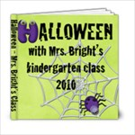 Kindergarten Halloween 2010 - Mrs. Bright - 6x6 Photo Book (20 pages)