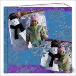 Snowflakes 20 page 12x12 album - 12x12 Photo Book (20 pages)