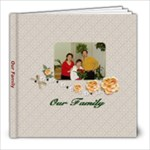 our family - 8x8 Photo Book (39 pages)