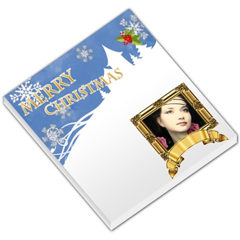 Merry Christmas By Joely   Small Memo Pads   W08cggnrg9gs   Www Artscow Com