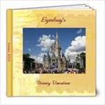 Lyndsay Disney Book 2 - 8x8 Photo Book (30 pages)