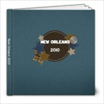 New Orleans - 8x8 Photo Book (20 pages)