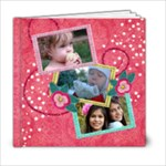 6x6 Pinktastic Holiday/Christmas Album - 6x6 Photo Book (20 pages)