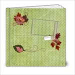 6x6 Fall/Autumn Memories Album - 6x6 Photo Book (20 pages)