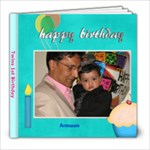 Twins 1st Birthday - 8x8 Photo Book (20 pages)