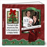 Happy Family Christmas 12x12 Photo Book - 12x12 Photo Book (20 pages)