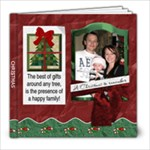 Happy Family Christmas 8x8 Photo Book - 8x8 Photo Book (20 pages)