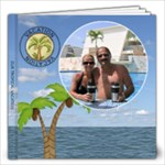 12x12 Tropical Vacation Book - 12x12 Photo Book (20 pages)