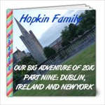 DUBLIN AND NEW YORK - 8x8 Photo Book (20 pages)