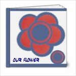 My flower book 6x6 20 pages - 6x6 Photo Book (20 pages)