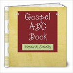gospel abc - 8x8 Photo Book (39 pages)