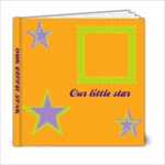 Our little star 6x6 20 pages - 6x6 Photo Book (20 pages)