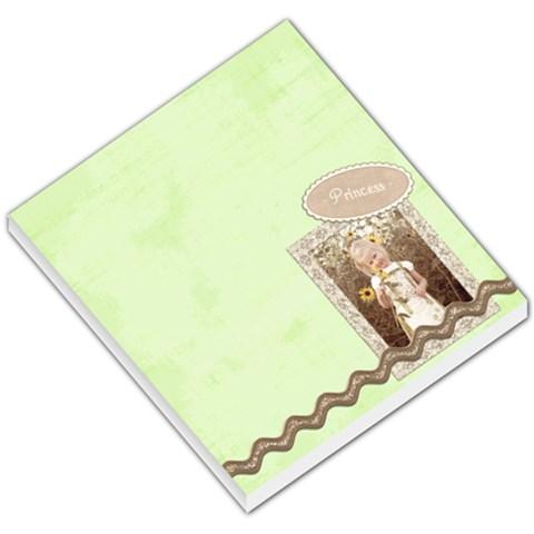 Princess Christmas Notepad By Sheena   Small Memo Pads   37pqzr5ugld5   Www Artscow Com