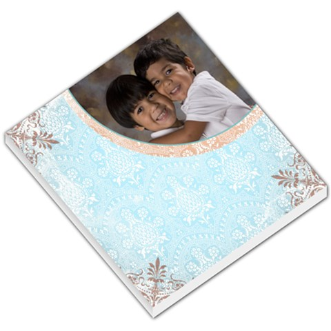 Blue Victorian Memo Pad By Ivelyn   Small Memo Pads   Ua14w9hybtbq   Www Artscow Com