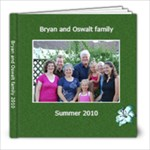 Bryan vacation - 8x8 Photo Book (20 pages)