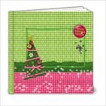 6x6 Hugs & Kissmas/Christmas/Holiday Album - 6x6 Photo Book (20 pages)