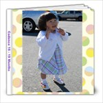 Cadence 16-19 Months - 8x8 Photo Book (39 pages)