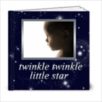 Twinkle Twinkle Little Star 6 x 6 Bragbook - 6x6 Photo Book (20 pages)