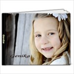 Genika Baptism Book - 7x5 Photo Book (20 pages)
