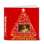 Merry Christmas Book 6x6 deluxe - 6x6 Deluxe Photo Book (20 pages)