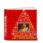 Merry Christmas Book 4x4 - 4x4 Deluxe Photo Book (20 pages)