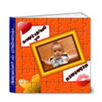 Puzzle book_my baby 6x6 deluxe - 6x6 Deluxe Photo Book (20 pages)