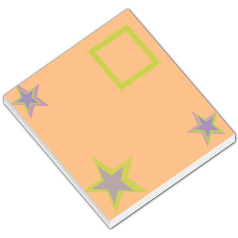 Little Star By Daniela   Small Memo Pads   63tkdmg2979r   Www Artscow Com