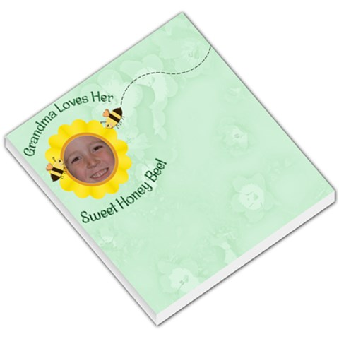 Grandma Loves Her Sweet Honey Bee By Chere s Creations   Small Memo Pads   8b12wyvlq6u5   Www Artscow Com