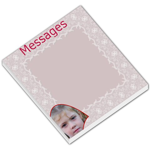 Lacey Small Memo Pad By Joan T   Small Memo Pads   6skzmr41h76n   Www Artscow Com
