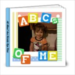 Ava Alphabet book - 6x6 Photo Book (20 pages)