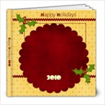 Christmas Jingle 8x8 Photo Book - 8x8 Photo Book (20 pages)
