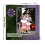 Family for Girls (2) - 6x6 Photo Book (20 pages)