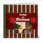 6x6-Magic of Christmas - 6x6 Photo Book (20 pages)