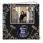 Happy New Year 8x8 Photo Book - 8x8 Photo Book (20 pages)