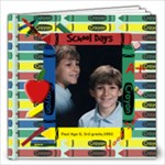 School Days 12x12 - 12x12 Photo Book (20 pages)