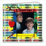 School Days 8x8 - 8x8 Photo Book (20 pages)