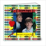 School Days 6x6 - 6x6 Photo Book (20 pages)