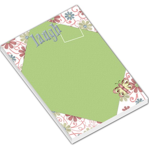 Pips Large Notepad 1 By Lisa Minor   Large Memo Pads   0ggmoaooatd2   Www Artscow Com