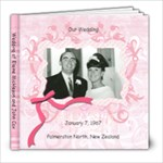 Wedding 1967 - 8x8 Photo Book (20 pages)