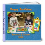 Tanner & Braxtons Birthday - 8x8 Photo Book (20 pages)