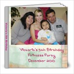 Princess Party 2010 - 8x8 Photo Book (30 pages)